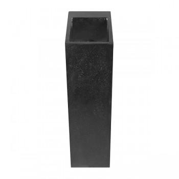 Lave-main Néptune en terrazo noir