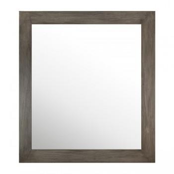 miroir en teck pour salle de bain sirocco greyl solo