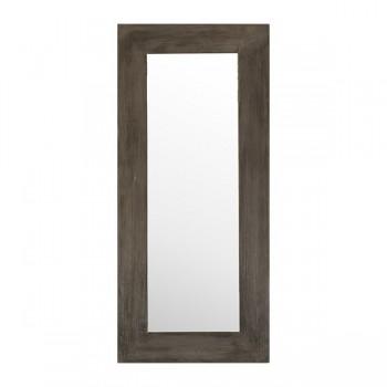 Miroir en teck Eros Grey