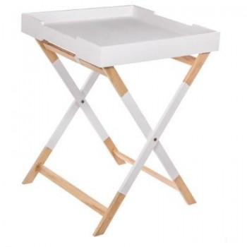 table plateau Hedra Blanc