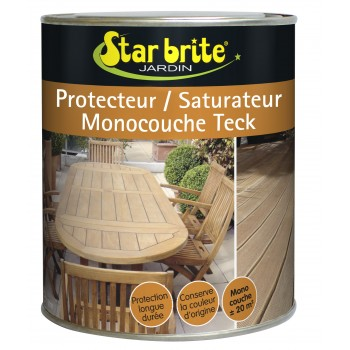 Saturateur de protection des meuble en teck