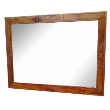 Miroir en teck Alizée L130xH90 (cm)